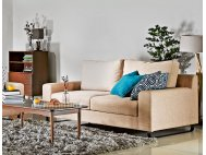Ross 3 Seater Fabric Sofa