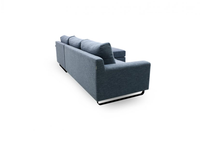 Ross L-Shape Fabric Sofa