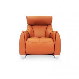 Sho 1 Seater Leather Motorised Recliner Armchair