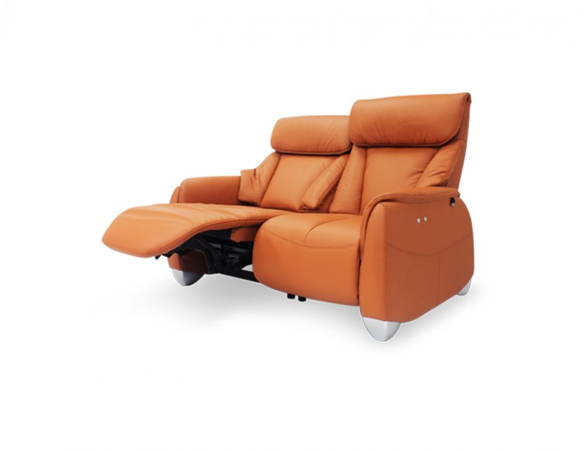 Sho 2 Seater Leather Motorised Recliner Sofa
