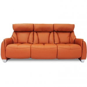 Sho 3 Seater Leather Motorised Recliner Sofa