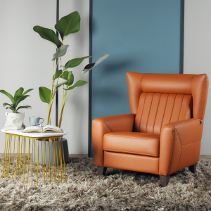 Stoker Leather Armchair