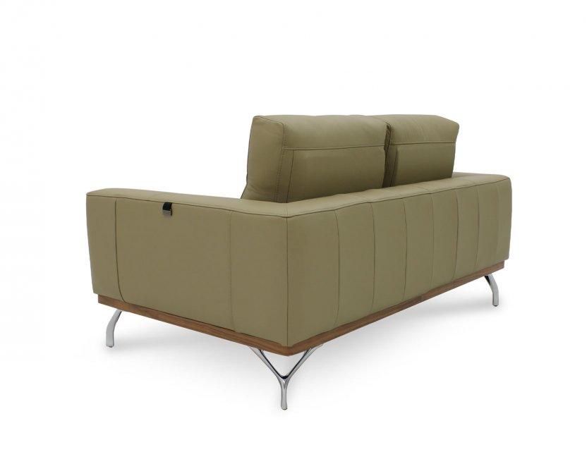 Yves Leather Sofa with Detachable Cushion