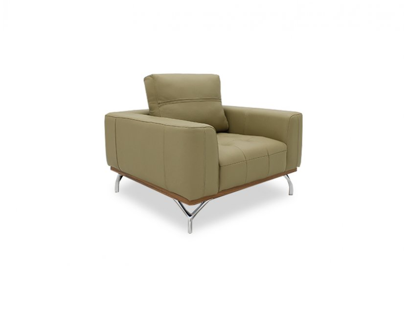 Yves 1 Seater Leather Armchair