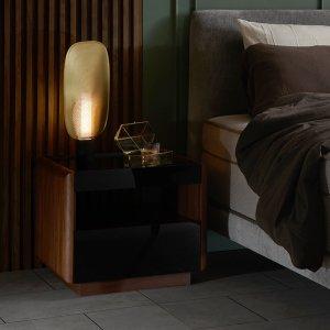 Crema Bedside Table