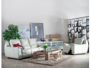 Concerto Leather Motorised Recliner Sofa Package
