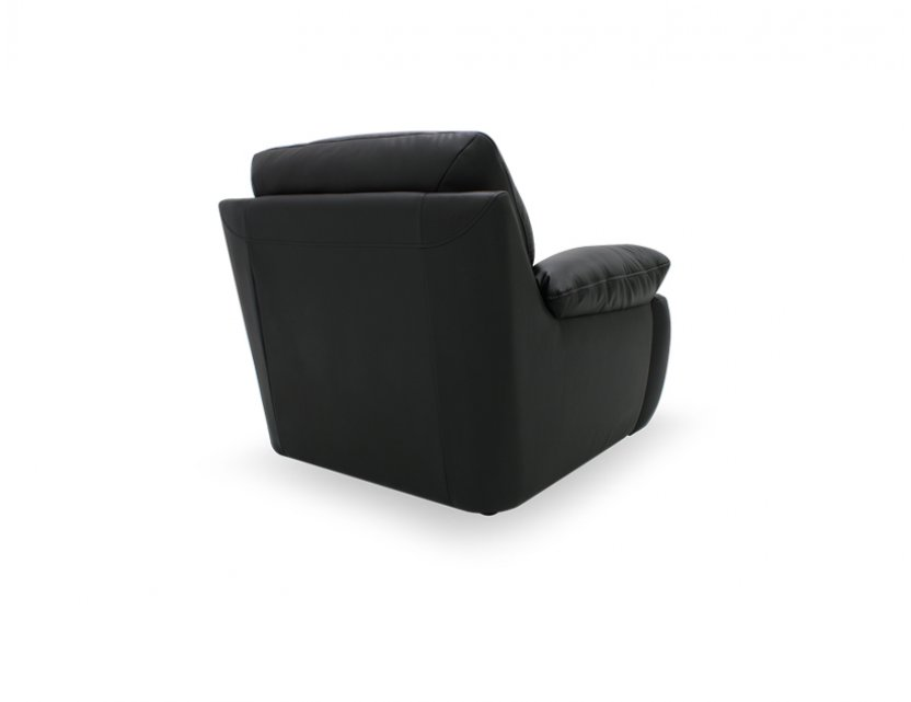 Dove 1 Seater Half-Leather Sofa