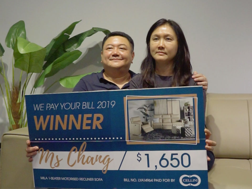 We Pay Your Bill 2019 Winner - Mr Chan